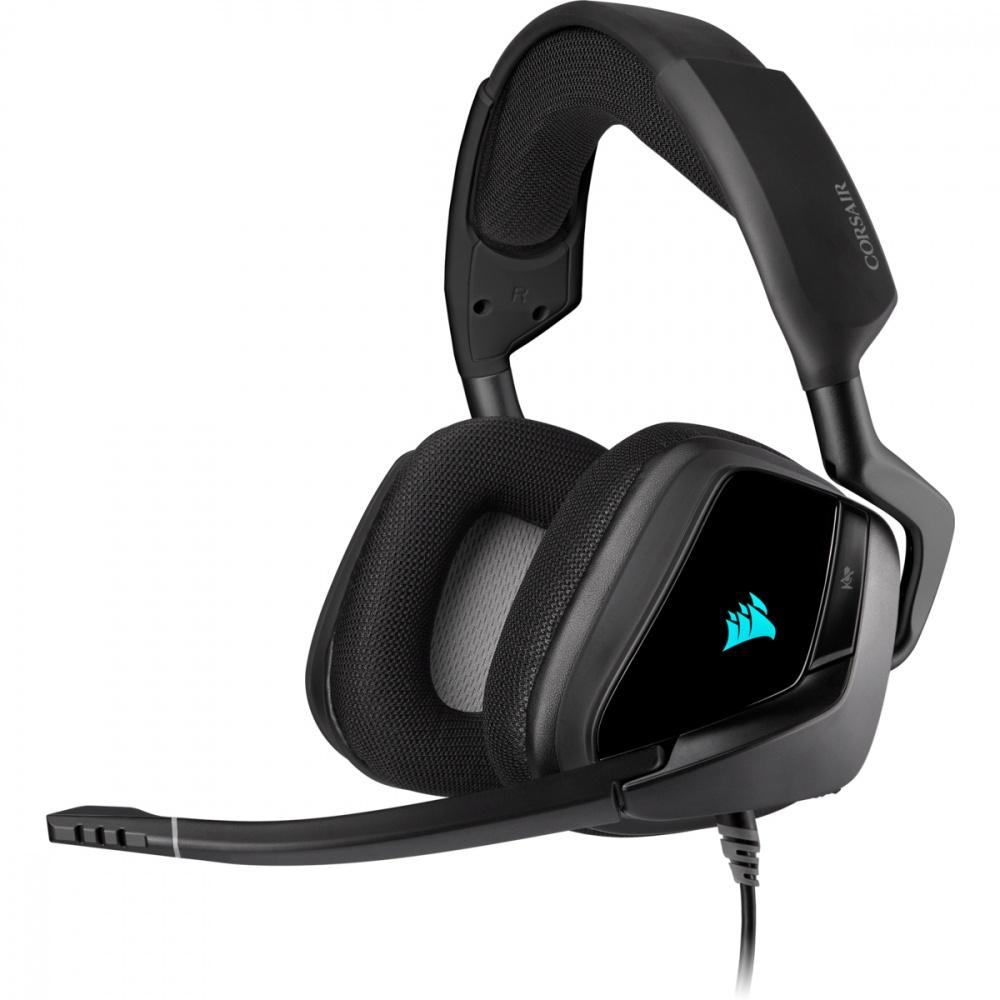 Corsair Audífonos Gamer VOID RGB ELITE 7.1, Alámbrico, USB, Negro