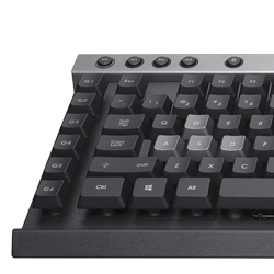 Teclado Gamer Corsair Raptor K30, USB, Negro (Inglés)