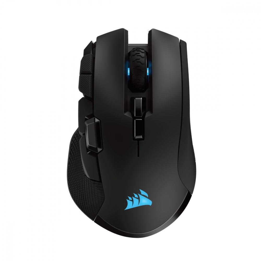 Mouse Gamer Corsair Óptico IRONCLAW RGB, RF Inalámbrico, 18.000DPI, Negro