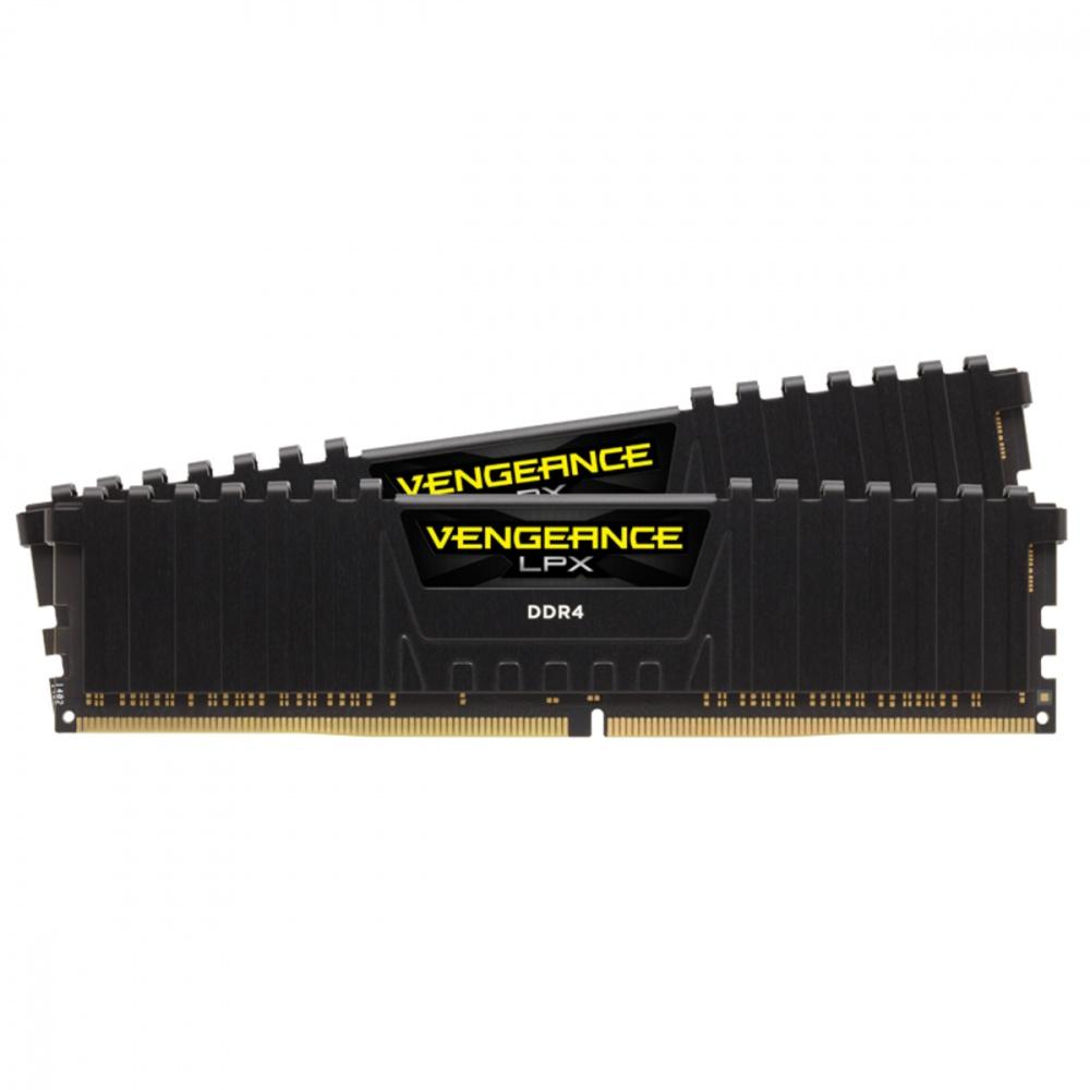 Kit Memoria RAM Corsair Vengeance LPX DDR4, 3600MHz, 16GB (2 X 8GB), Non-ECC, CL20, XMP