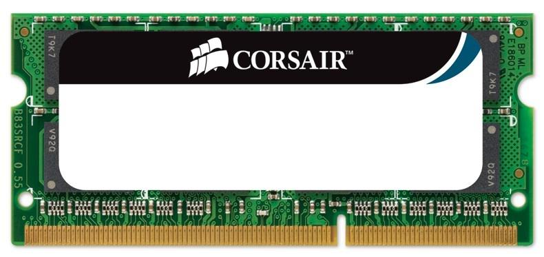 Memoria RAM Corsair DDR3, 1333MHz, 8GB, CL9, SO-DIMM