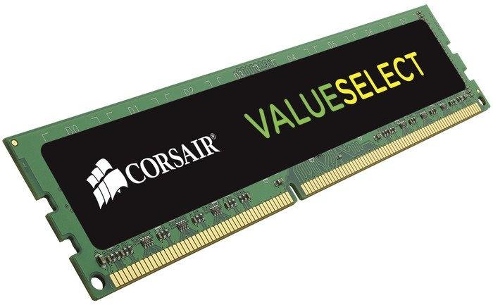 Memoria RAM Corsair ValueSelect DDR3, 1333MHz, 2GB, CL9