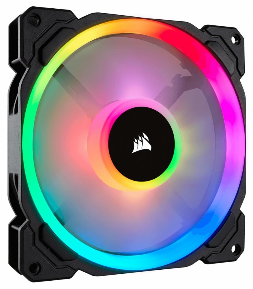 Ventilador Corsair LL140 RGB, 140mm, 600-1300RPM