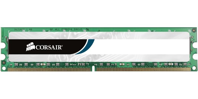 Memoria RAM Corsair DDR2, 400MHz, 2GB, CL5