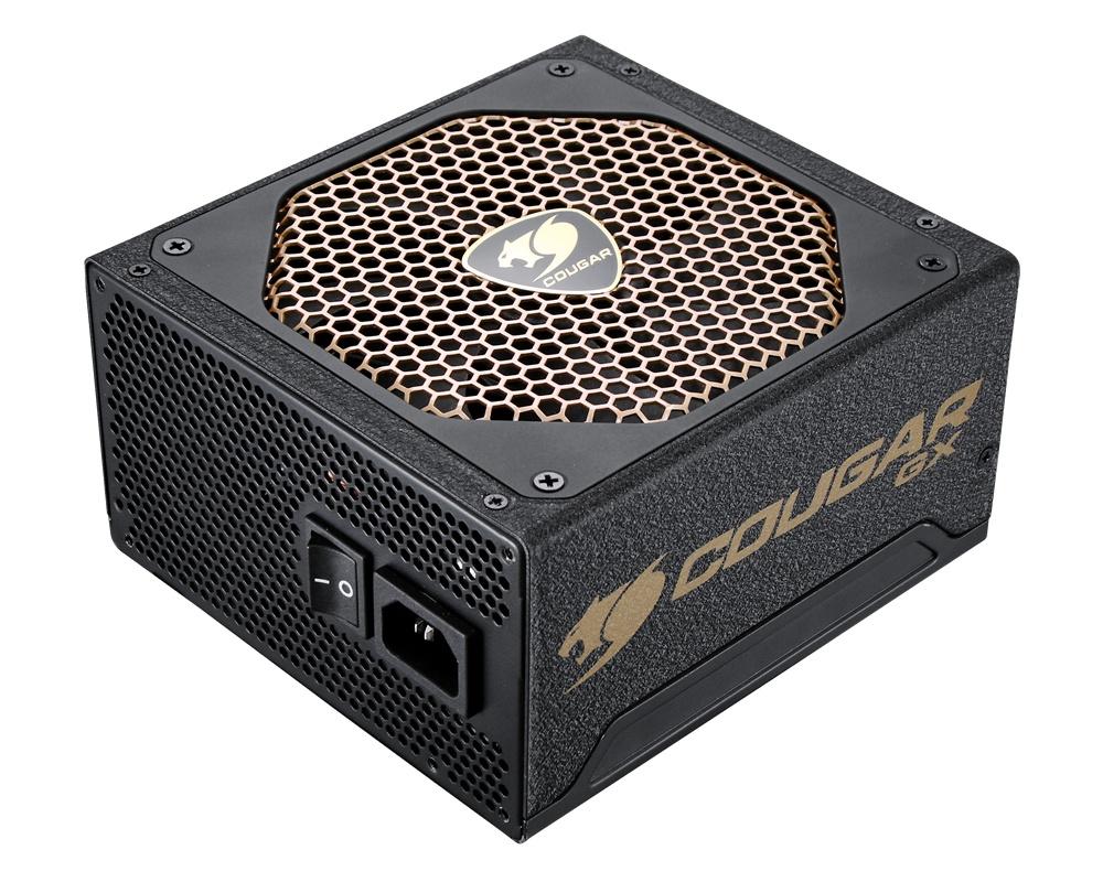 Fuente de Poder Cougar GX800 80 PLUS Gold, 20+4 pin ATX, 140mm, 800W