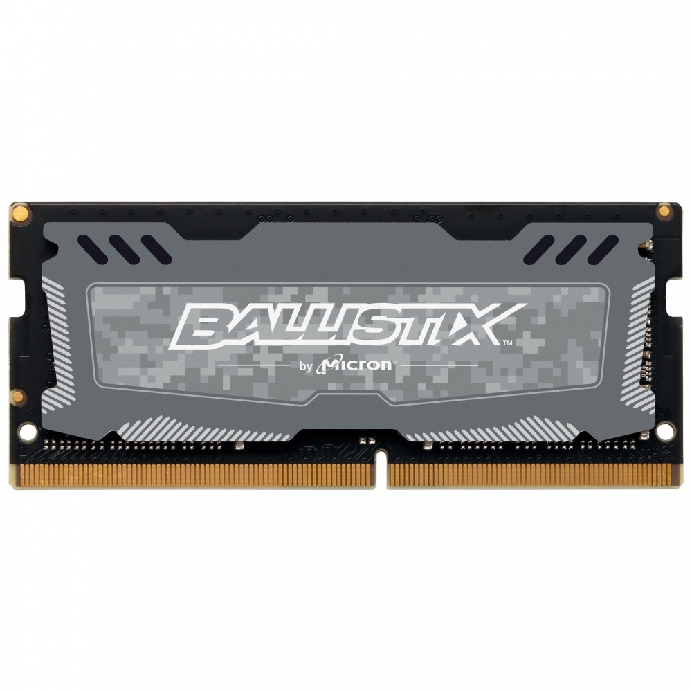 Memoria RAM Crucial Ballistix Sport LT DDR4, 2666MHz, 4GB, Non-ECC, CL16, SO-DIMM, XMP