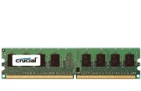 Memoria RAM Crucial DDR2, 667MHz, 2GB, Non-ECC, CL5