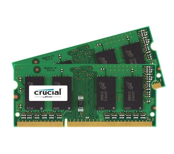 Memoria RAM Crucial DDR3, 1866 MHz, 16GB (2 x 8GB), Non-ECC, CL13, SO-DIMM