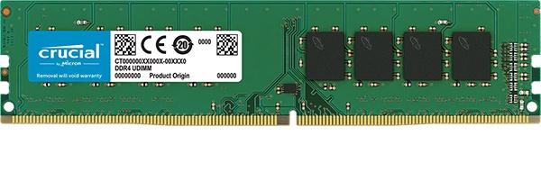 Memoria RAM Crucial CT4G4DFS632A DDR4, 3200MHz, 4GB, Non-ECC, CL22