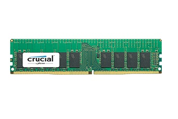Memoria RAM Crucial DDR4, 2400MHz, 4GB (1 x 4 GB), ECC, 17, SO-DIMM