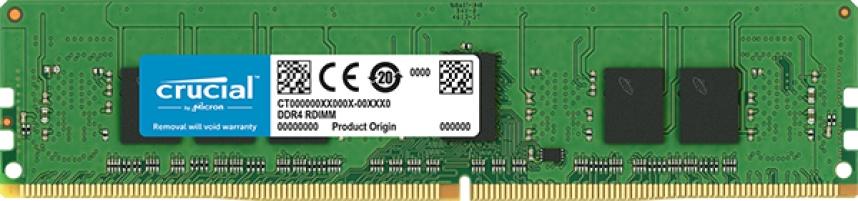 Memoria RAM Crucial DDR4, 2666MHz, 4GB, ECC, CL19