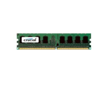 Memoria RAM Crucial CT51272BD160BJ DDR3, 1600MHz, 4GB, ECC, CL11