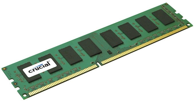 Memoria RAM Crucial CT8G3ERSDD8186D DDR3, 1866MHz, 8GB, CL5