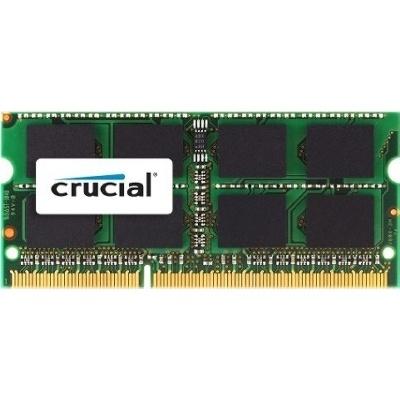 Memoria RAM Crucial CT8G3S1339M DDR3, 1333MHz, 8GB, Non-ECC, CL9, SO-DIMM