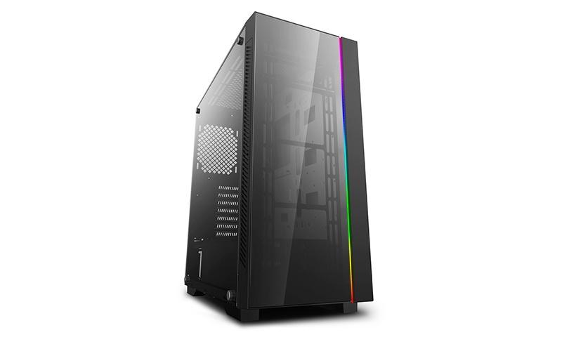 Gabinete DeepCool MATREXX 55 V3 ADD-RGB con Ventana LED RGB, Midi-Tower, ATX/EATX/Micro ATX/Mini-ITX, USB 2.0/3.0, Negro