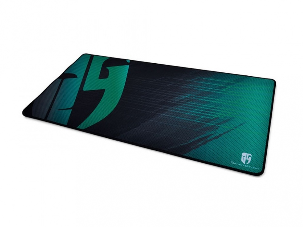 Mousepad Gamer DeepCool E-Pad Plus, 80 x 40cm, Grosor 4mm, Negro/Turquesa