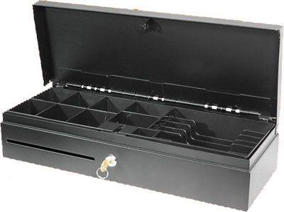 Cajón de Dinero EC Line Flip Top con Llave, 4.8kg, Negro