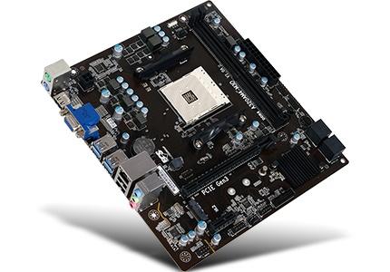 Tarjeta Madre ECS mATX A320AM4-M3D, S-AM4, AMD A320, HDMI, 32GB DDR4, para AMD