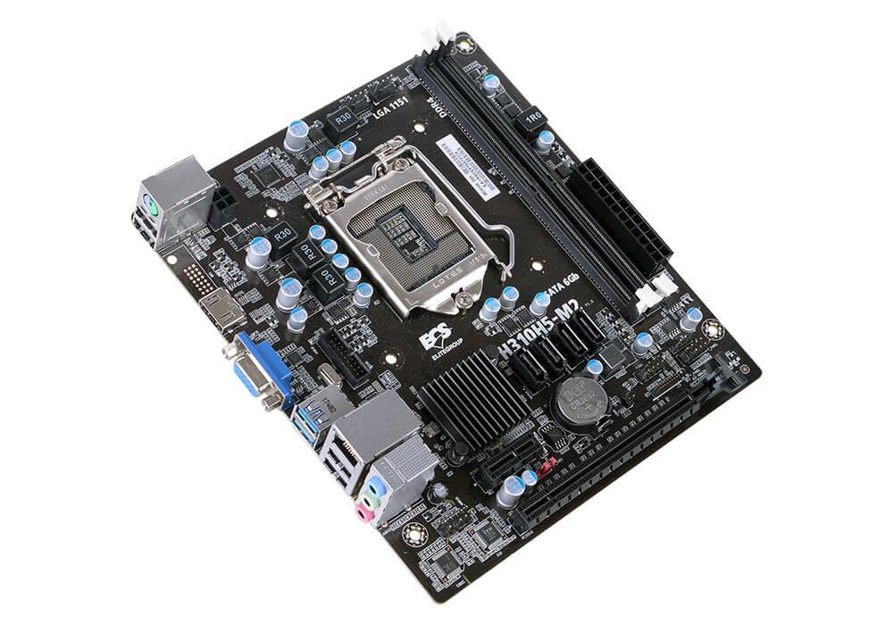 Tarjeta Madre ECS micro ATX H310H5-M2, S-1151, Intel H310 Express, HDMI, 32GB DDR4 para Intel ― Compatibles solo con 8va & 9va Generación