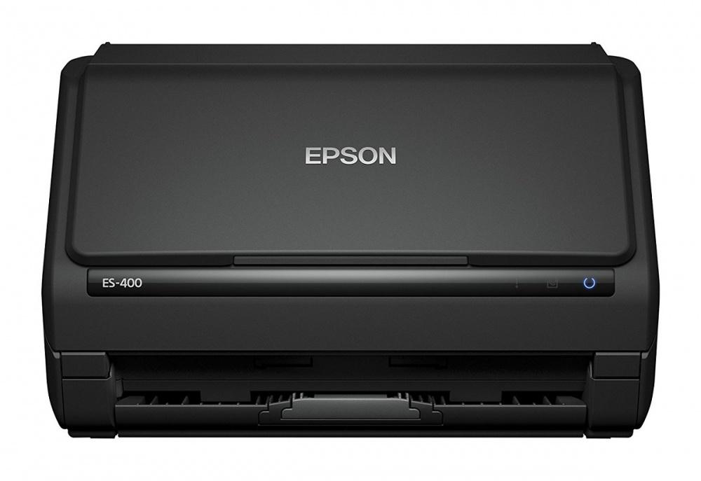 Scanner Epson WorkForce ES-400, 600 x 600 DPI, Escáner Color, Escaneado Dúplex, USB 3.0, Negro