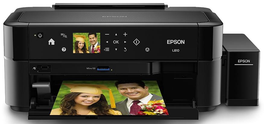 Epson L810, Color, Inyección,Print