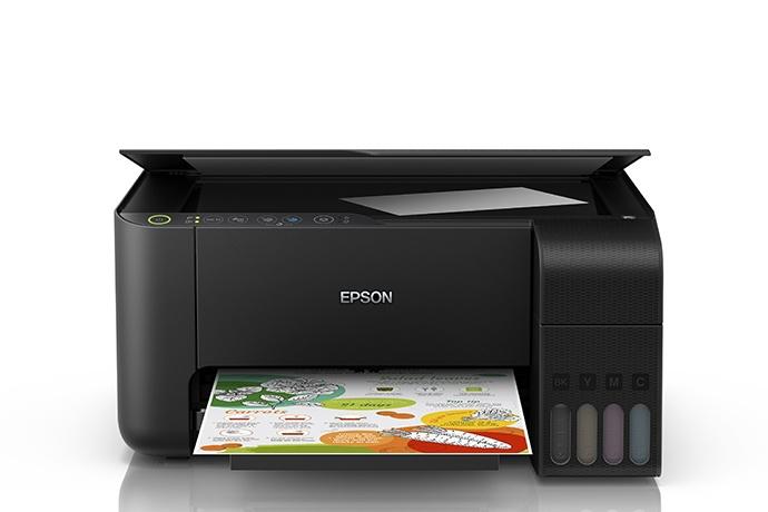 Multifuncional Epson EcoTank L3150, Color, Inyección, Inalámbrico, Print/Scan/Copy