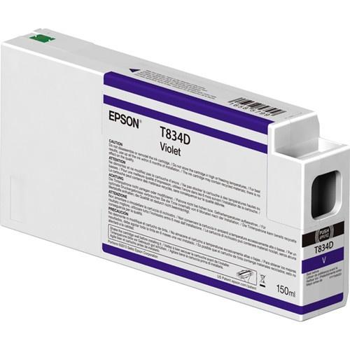 Cartucho Epson UltraChrome HDX T834D00 Violeta 150ml