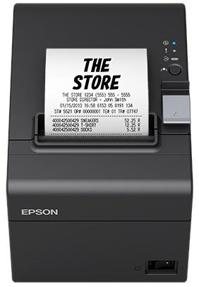 Epson TM-T20III-001 Impresora de Tickets, Térmico, RS-232/USB, Negro