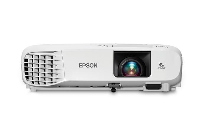 Proyector Portátil Epson PowerLite X39 3LCD, XGA 1024 x 768, 3500 Lúmenes, con Bocinas, Blanco