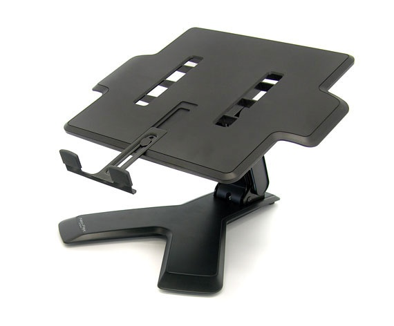 Ergotron Base Neo-Flex con Ajuste de Altura para Laptop, Negro