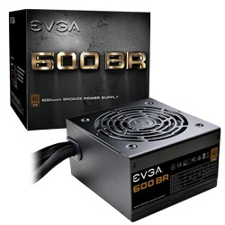 Fuente de Poder EVGA 0600-K1 80 PLUS Bronze, 24-pin ATX, 120mm, 600W