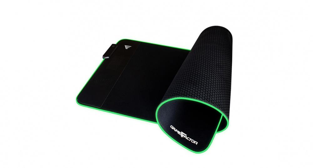 Mousepad Gamer Game Factor MPG600 RGB, 78 x 30cm, Grosor 4mm, Negro