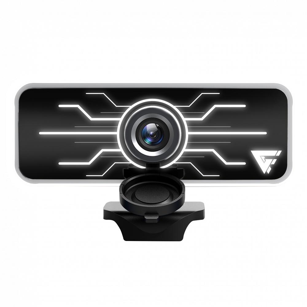 Game Factor Webcam WG400, 1080p, 1920 x 1080 Pixeles, USB, Negro