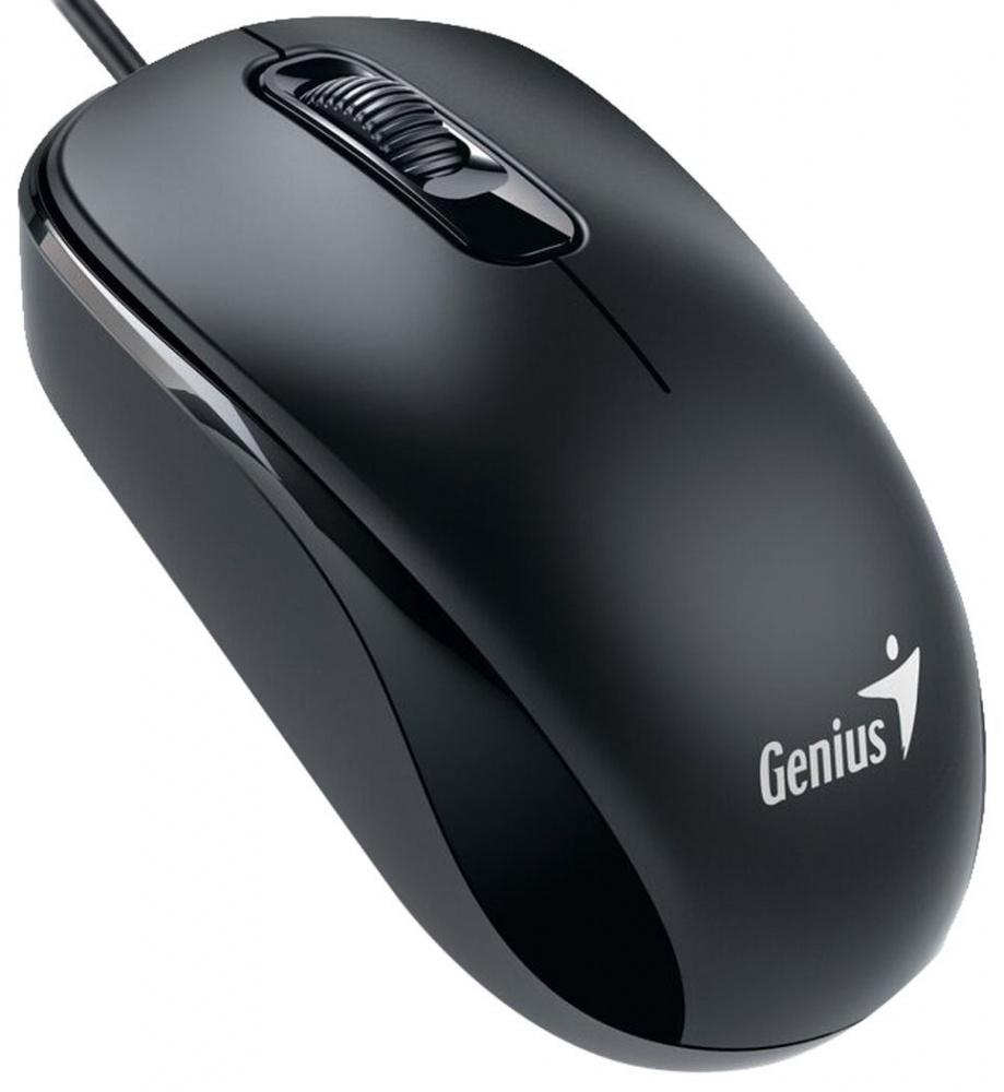 Mouse Genius Óptico DX-110, Alámbrico, USB, 1000DPI, Negro