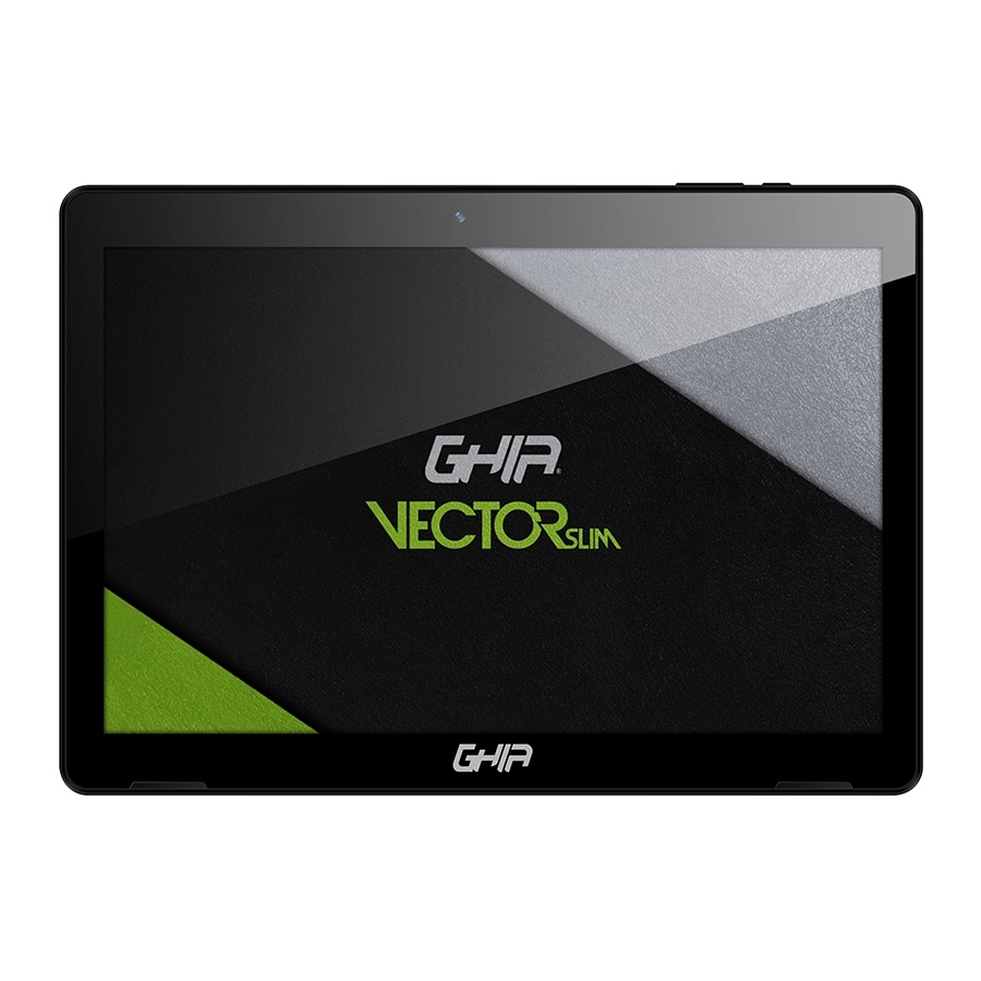 """Tablet Ghia Vector Slim 10.1"""", 16GB, 1280 x 800 Pixeles, Android 10 Go Edition , Bluetooth 4.0, Negro"""