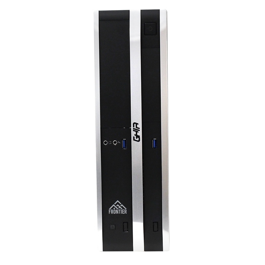Computadora Kit Ghia Frontier Slim, AMD Ryzen 3 2200G 3.50GHz, 8GB, 240GB SSD, sin Sistema Operativo + Teclado/Mouse