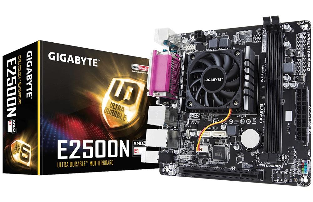 Tarjeta Madre Gigabyte Mini ITX GA-E2500N (rev. 1.0), S-FT3, AMD, HDMI, 32GB DDR3 para AMD