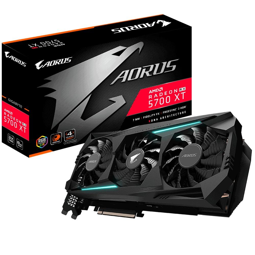 Tarjeta de Video AORUS AMD Radeon RX 5700 XT, 8GB 256-bit GDDR6, PCI Express x16 4.0 - ¡Gratis 3 meses de Xbox Game Pass para PC! (un código por cliente) - ¡Compra y elige entre Borderlands 3 o Tom Clancys Ghost Recon Breakpoint!