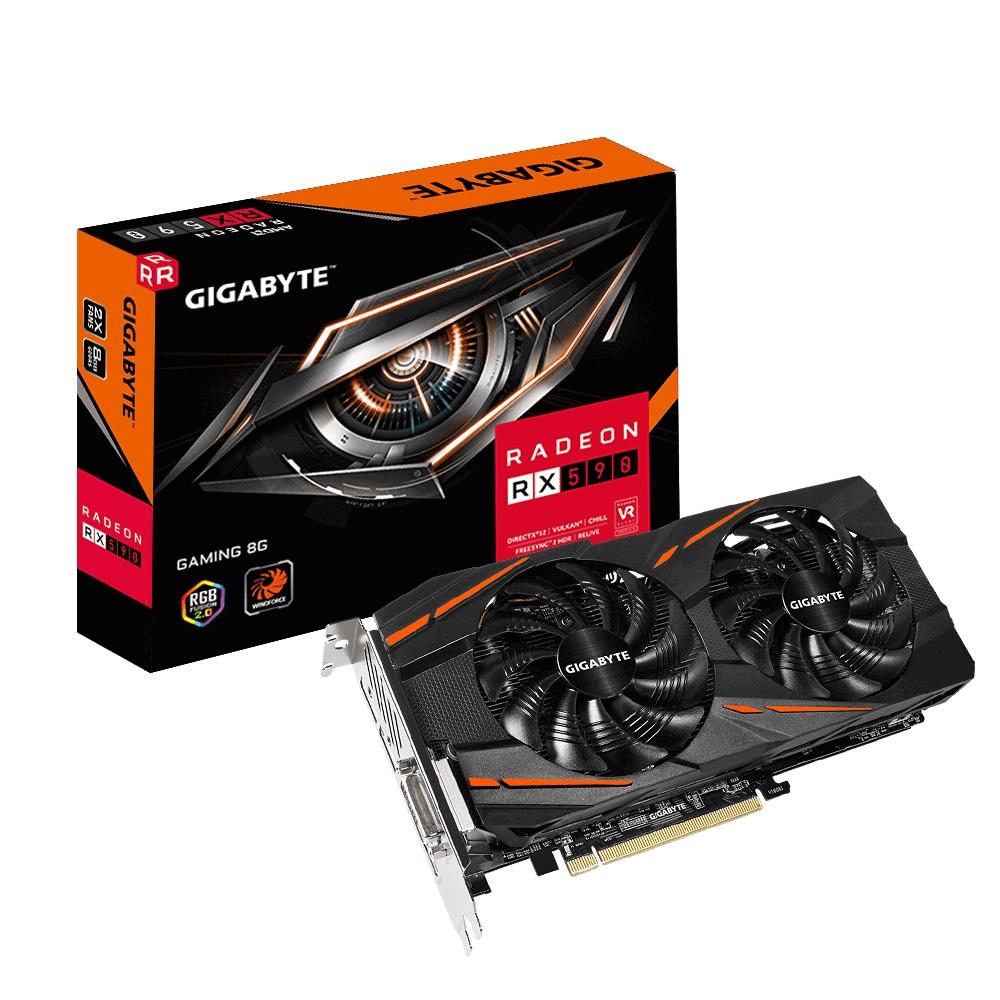 Tarjeta de Video Gigabyte AMD Radeon RX 590 Gaming REV 1.0, 8GB 256-bit GDDR5, PCI Express x16 3.0 - ¡Gratis 3 meses de Xbox Game Pass para PC! (un código por cliente)