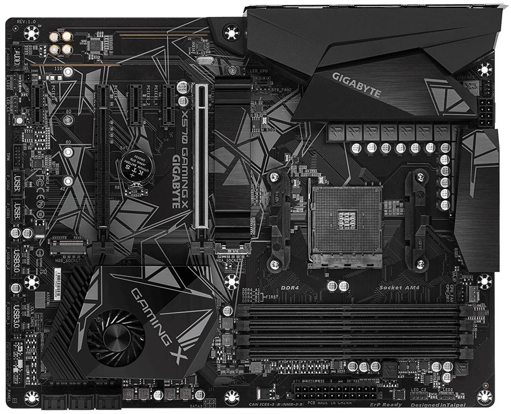 Tarjeta Madre Gigabyte ATX X570 GAMING X, S-AM4, AMD X570, HDMI, 128GB DDR4 para AMD Ryzen — Requiere Actualización de BIOS para la Serie Ryzen 5000