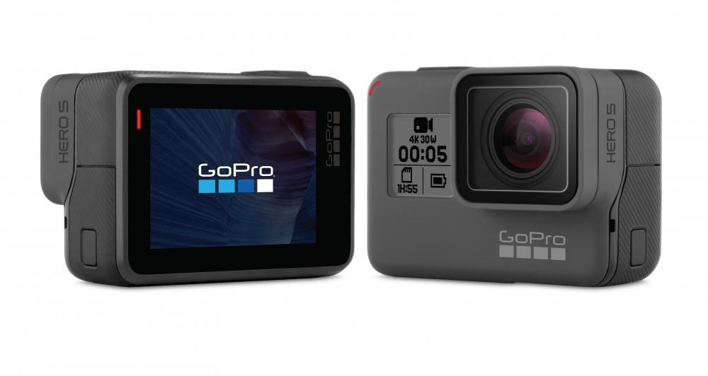 Cámara Deportiva GoPro Hero 5 Black, 12MP, 4K Ultra HD, CHDHX-502 ...