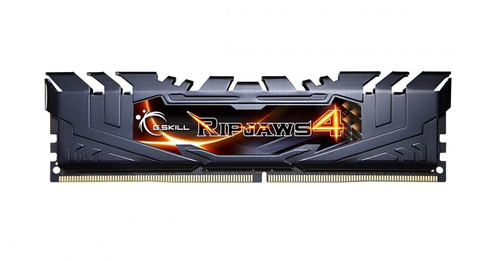Memoria RAM G.Skill Ripjaws 4 Black DDR4, 2400MHz, 8GB, Non-ECC, CL15, XMP