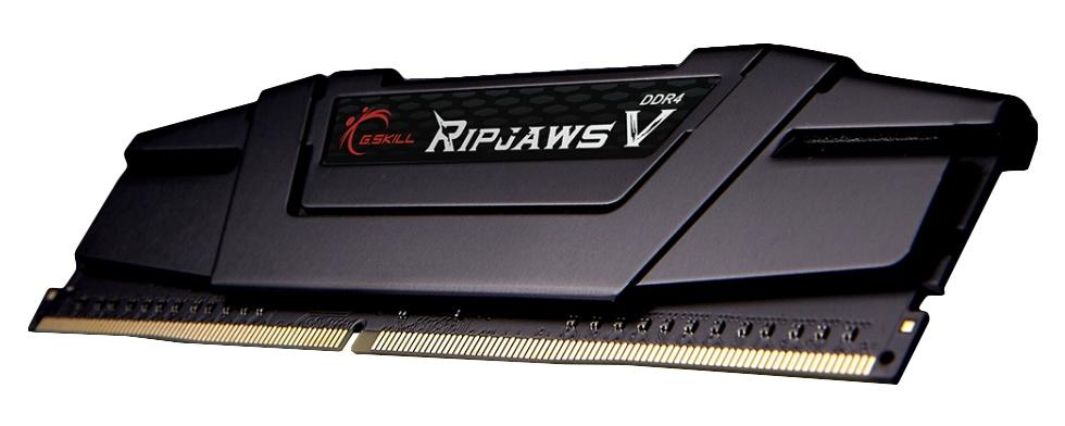 Memoria RAM G.Skill DDR4 RipjawsV Black, 3200MHz, 16GB, Non-ECC