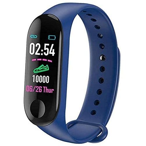 Highlink Smartwatch Bracelet, Bluetooth, Android/iOS, Azul