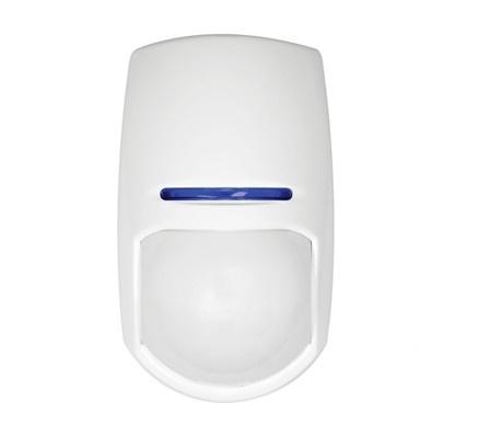 Hikvision Sensor de Movimiento PIR de Montaje en Pared DS-PD2-P10P-W, Inalámbrico, Anti-Pet, hasta 10 Metros, Blanco