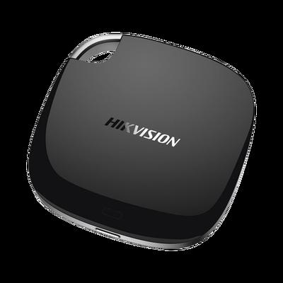 Disco Duro Externo Hikvision T100I, 128GB, USB C, Negro - para Mac/PC