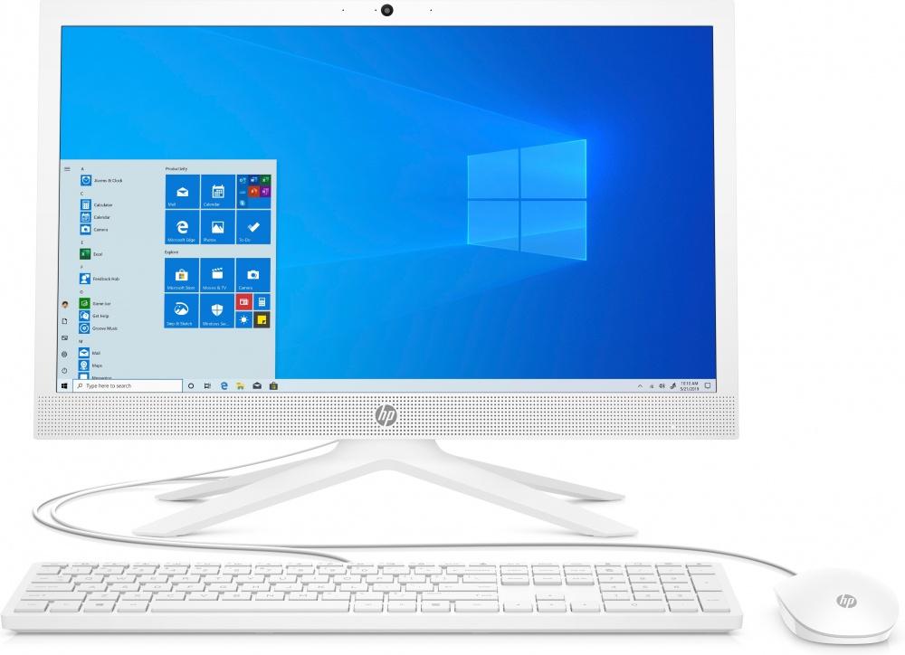 "HP Pavilion 21-b0015la All-in-One 21"", Intel Core i3-1005G1 1.20GHz, 4GB, 1TB, Windows 10 Home 64-bit, Blanco"