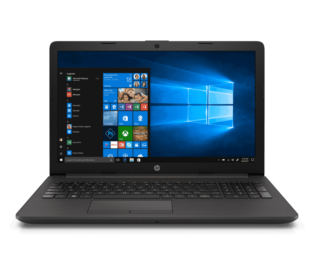 "Laptop HP 255 G7 15.6"" HD, AMD Athlon 3020e 1.20GHz, 4GB, 500GB, Windows 10 Home 64-bit, Negro"