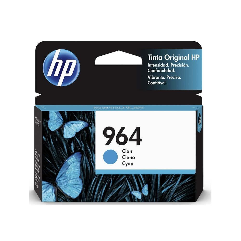 Cartucho HP 964 Cyan, 700 Páginas