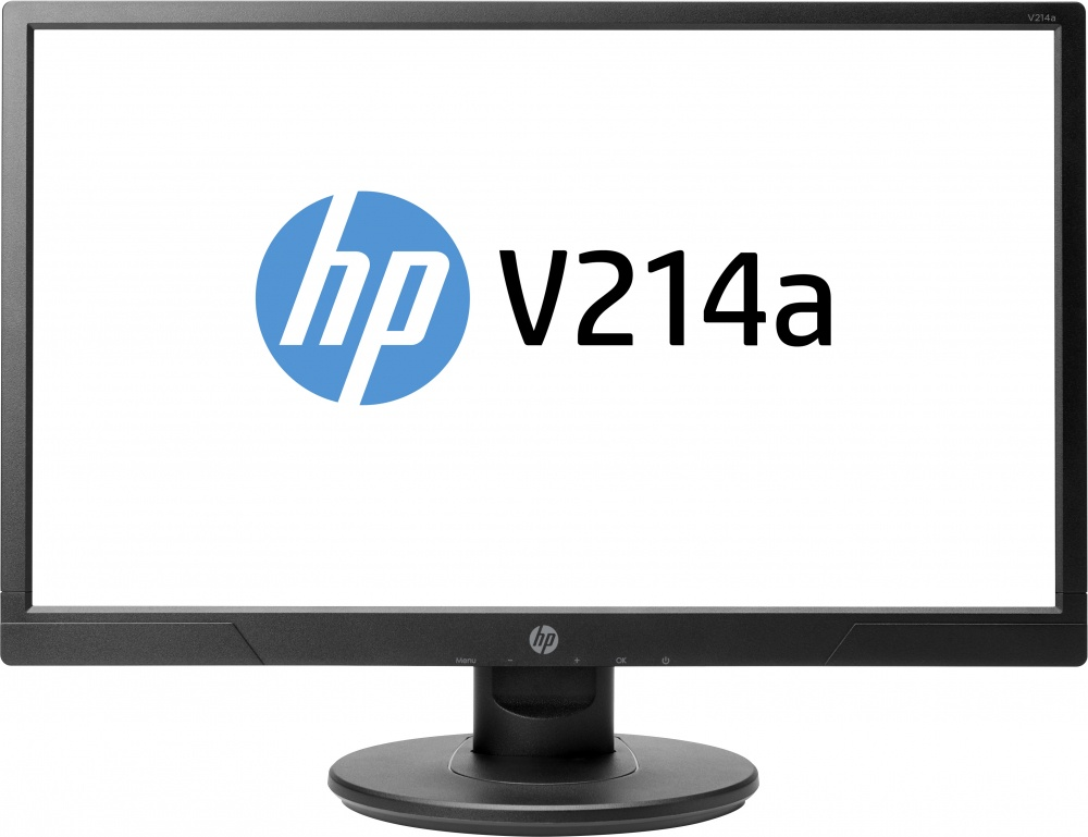 "Monitor HP V214a LED 20.7"", Full HD, Widescreen, HDMI, Bocinas Integradas (2 x 1W), Negro"